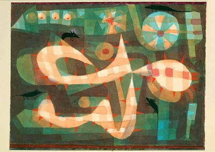 Klee, Paul: The Barbed Noose with the Mice. Fine Art Print/Poster (4986)